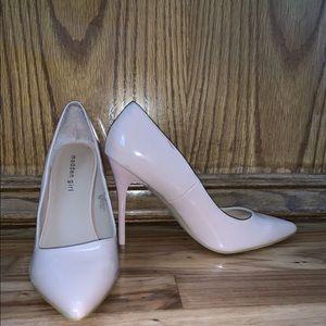MADDEN GIRL Size 8.5 Blush Pink High Heel Pumps